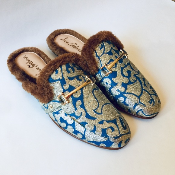 e0ee451468d5 M 5bda0cf2c89e1d817b39b6fe. Other Shoes you may like. Sam edelman augustus  silver mule slides. Sam edelman augustus silver ...